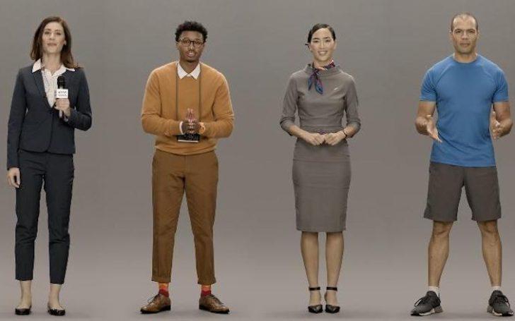 Samsung Neon: цифровые люди
