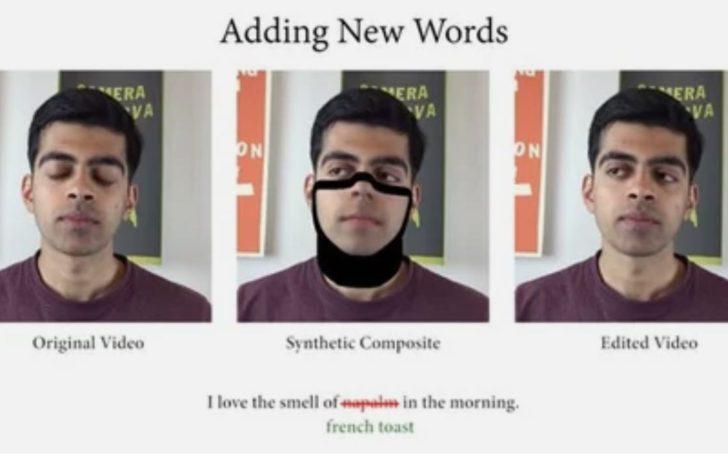 Новый Deepfake позволяет редактировать речь говорящего на видео
