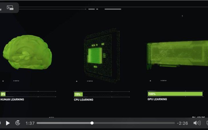 Короткий видео ролик от NVideo о глубоком обучение нейронных сетей.