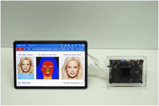 ИИ-чип для изменения изображений