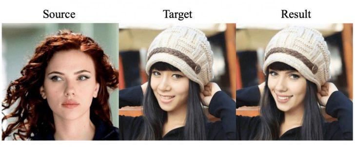 FaceShifter: нейросеть заменяет лица на фотографиях