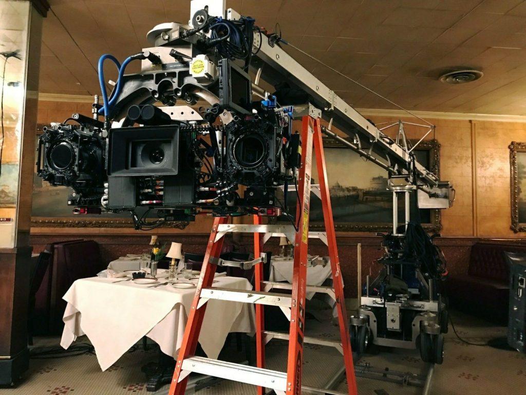 Конструкция на съёмках