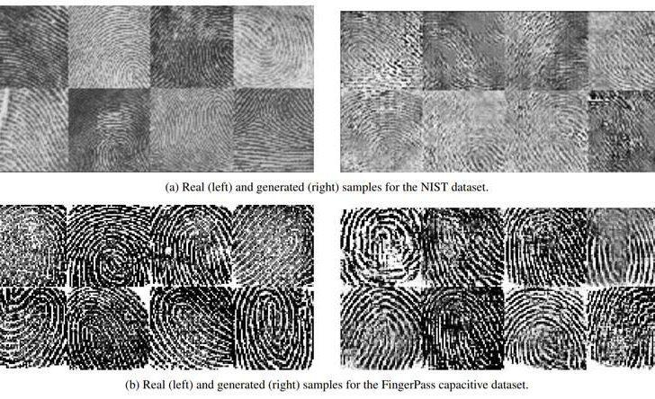 Исследователи тестировали DeepMasterPrints против классического датасета отпечатков NIST
