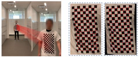 Рубашка позволяет владельцу двигаться естественным образом, скрывая человека
