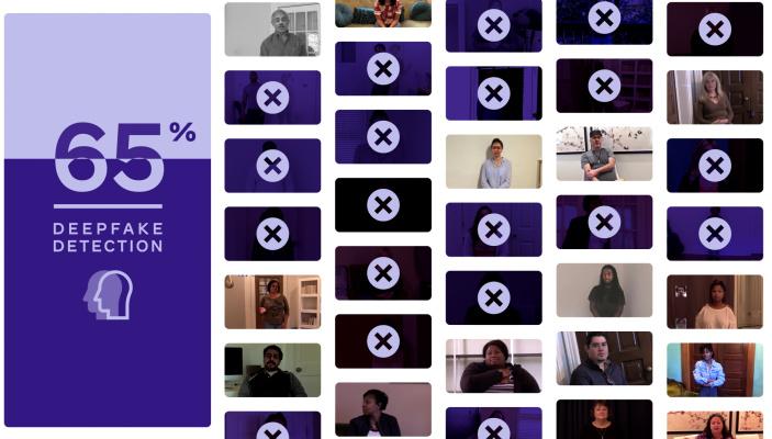 Программы со всего мира смогли отличить лишь 65% видеоподделок Deepfake