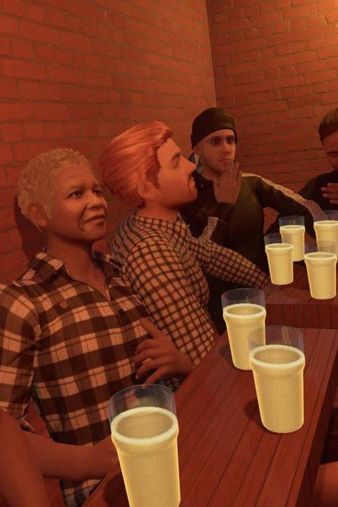 Британец воссоздал в виртуальной реальности любимый бар