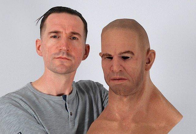 Cиликонова маска